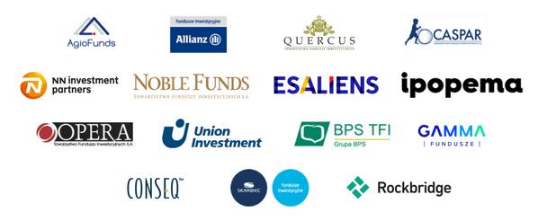 Fundusze inwestycyjne polskich TFI znajdujące się w ofercie F-Trust