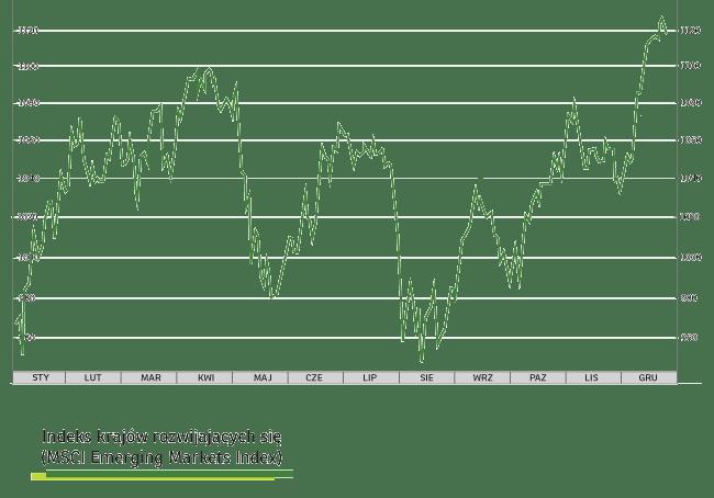 W co inwestować w 2020 roku? Podpowiada nam Indeks krajów rozwijających się (MSCI Emerging Makets Index)