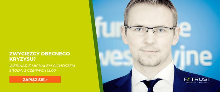 Webinar z Michałem Cichoszem ze Skarbiec TFI