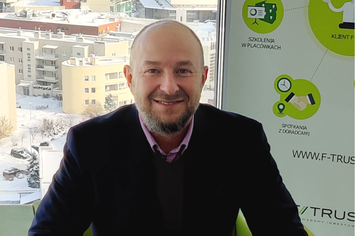 Rozmowa z Dariuszem Skarbkiem, dyrektorem sprzedaży w F-Trust SA